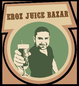 Eroz Juice Bazar | Wraps und Juices | 1060 Wien